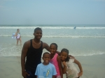 Daytona Beach, rode trip from the family reunion